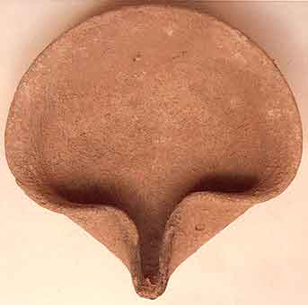 Iron Age Terracotta Oil Lamp