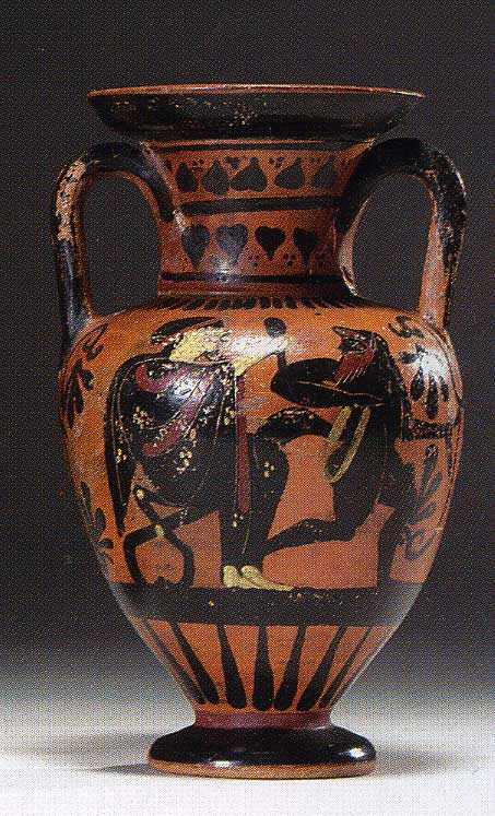 Small Attic Black-Figured Amphora