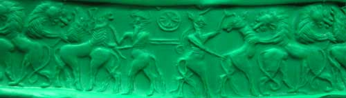Sumerian Stone Cylinder Seal