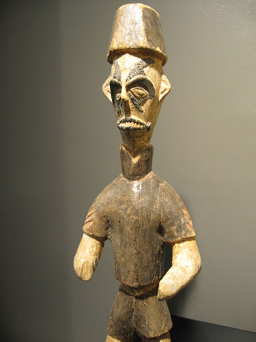Igbo Sculpture of a Soldier