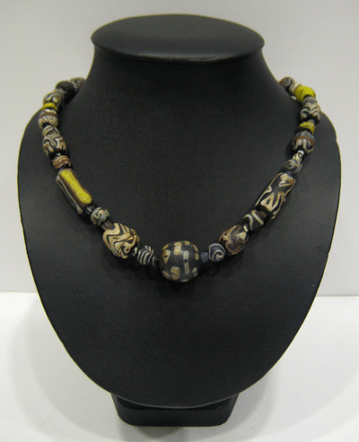 Ancient Glass Beaded Necklace