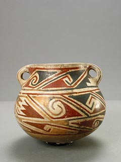 Casas Grandes Polychrome Pot with Stylized Breasts