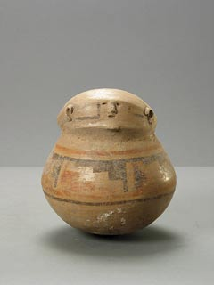 Casas Grandes Polychrome Anthropomorphic Pot