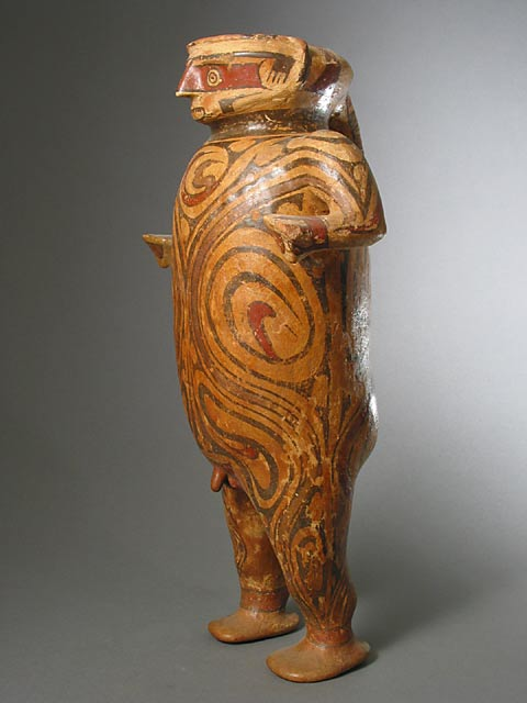 Cocle Polychrome Standing Male