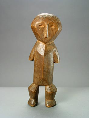 Lega Wooden Bwami Society Sculpture