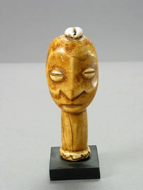 Lega Ivory Sculpture of a Head