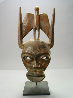 Senufo Wooden Face Mask
