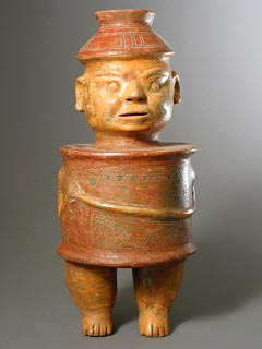 Terracotta Anthropomorphic Vessel