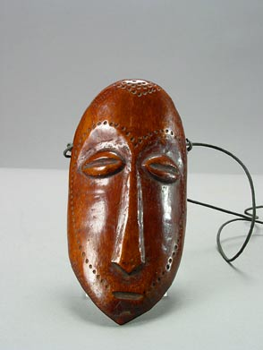 Lega Ivory Pendant in the Form of a Mask
