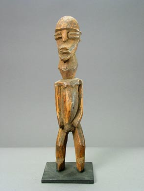 Lobi Bateba Sculpture of a Man with Goitre