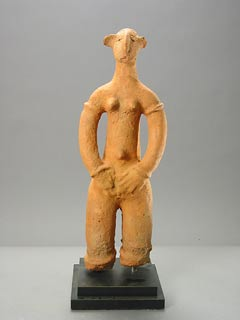 Bankoni Terracotta Sculpture of a Woman