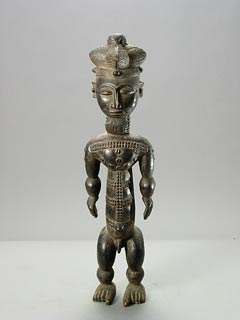 Attye Wooden Ancestor Sculpture
