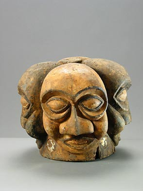 Four-faced mask