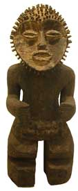 Mambila Wooden Sculpture of a Man