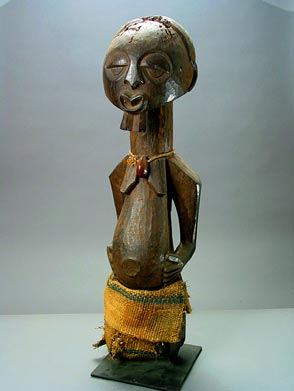 Songye Wooden Sculpture of a man