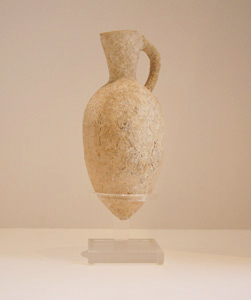 Middle Bronze Age Terracotta Oil Juglet
