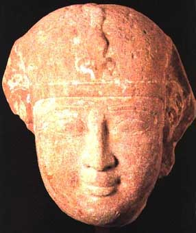 Stone Portrait of a  Ptolemaic King