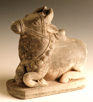 Indian Sculpture of the Bull Nandi