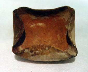 Early Bronze Age Oil  Lamp with Four Spouts