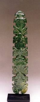 Atlantic Watershed Jade Pendant Featuring Four Frogs