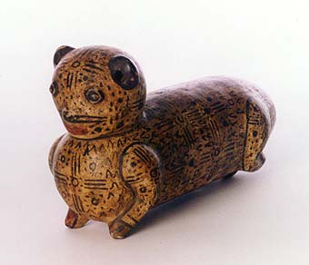 Terracotta Sculpture of a Feline
