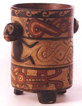 Guanacaste-Nicoya Vessel with Two Monkeys