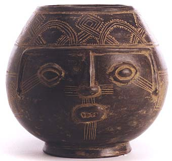 Guanacaste-Nicoya Blackware Trophy Head