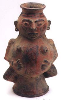 Terracota Female Effigy Vessel