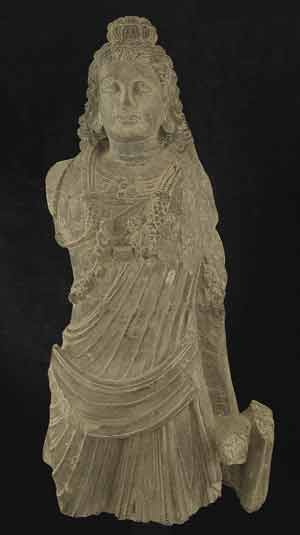 Gandhara Schist Sculpture of Buddha