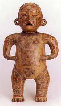 Standing Male Figure Vessel