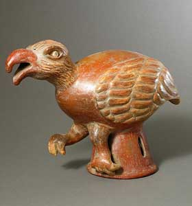 Terracotta Sculpture of a Buzzard
