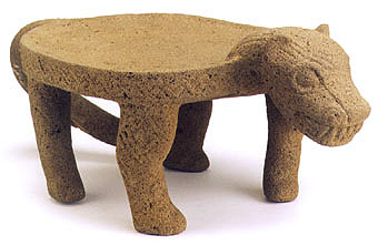 Stone Jaguar Metate