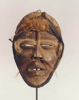 Wobe Wooden Mask