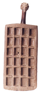 Lobi Wooden Mancala Game Board