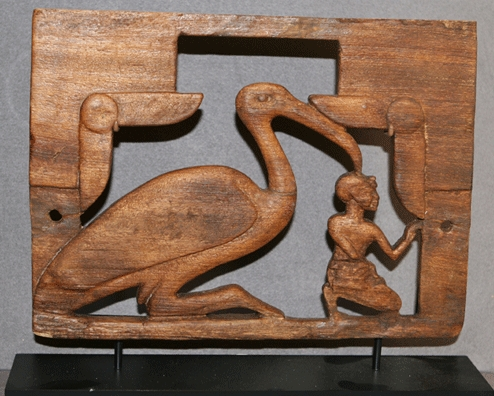 Egyptian Wooden Furniture Attachment