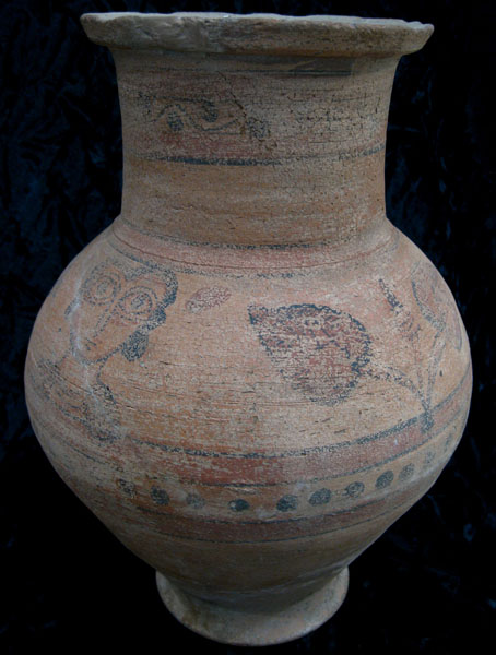 Coptic Painted Pottery Jar