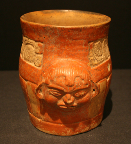 Toltec Cylindrical Vessel