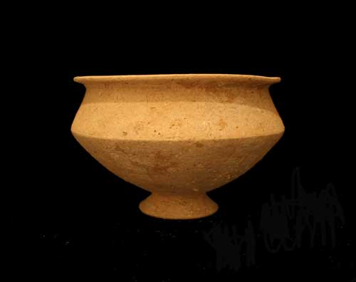 Middle Bronze Age Terracotta Drinking Vessel