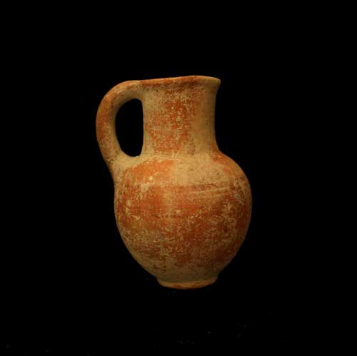 Iron Age Terracotta Pitcher