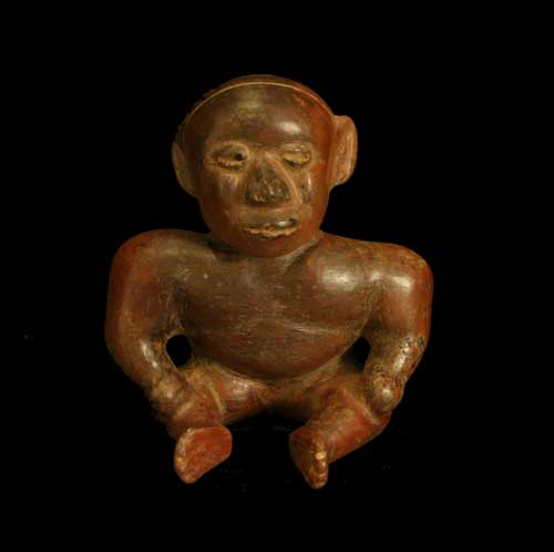 Colima Figure in the Form of a Hunchback