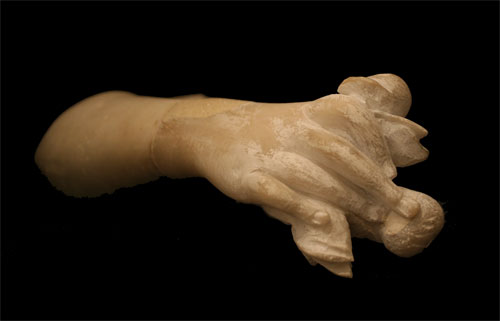 Neoclassical Marble Arm