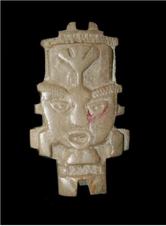 Teotihuacan Stone Amulet