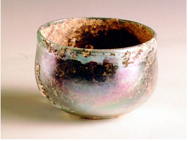 Roman Glass Drinking Cup