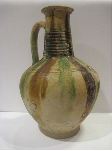 Early Islamic Polychrome Jug
