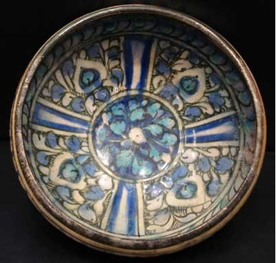 Sultanabad Glazed Bowl