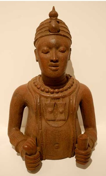 Ife Style Terracotta Bust
