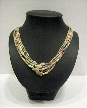 Mixed Glass Beaded  Necklace