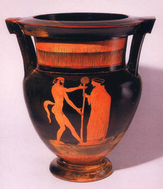 Attic Red-Figure Column Krater Attributed to the Boreas Painter