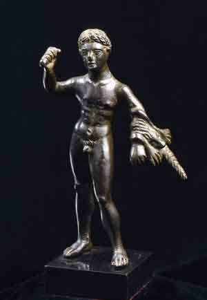 Etruscan Bronze Sculpture of Hercules