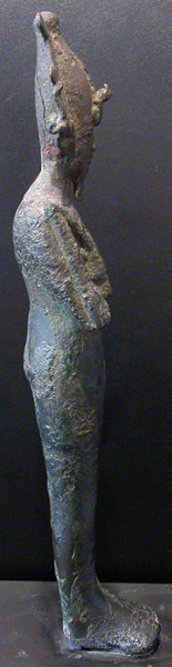 Egyptian Bronze Sculpture of Osiris